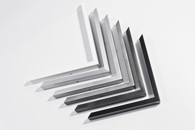 Black Etched Aluminium Picture Frame