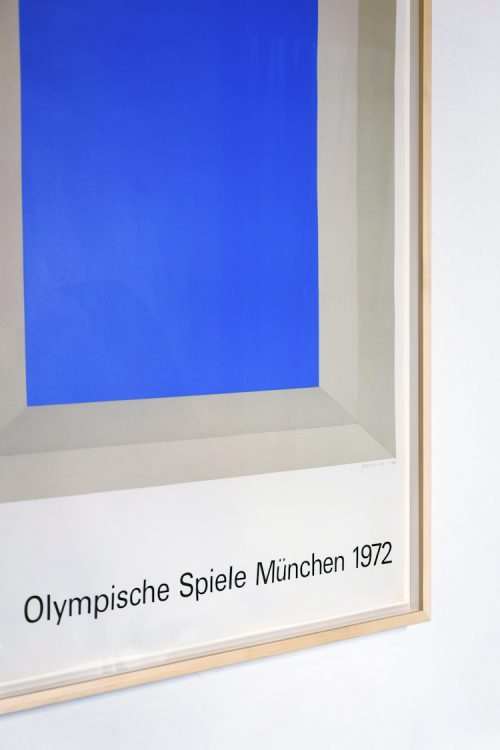 Josef Albers Tulip RO Picture Frame