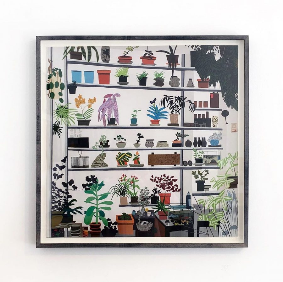 Jonas Wood Framed Print