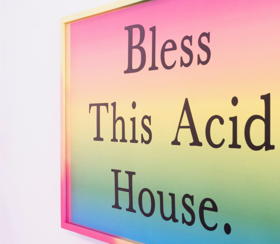 Jeremy Deller Fraser Muggeridge Colour Fade Picture Frame Bless this Acid House
