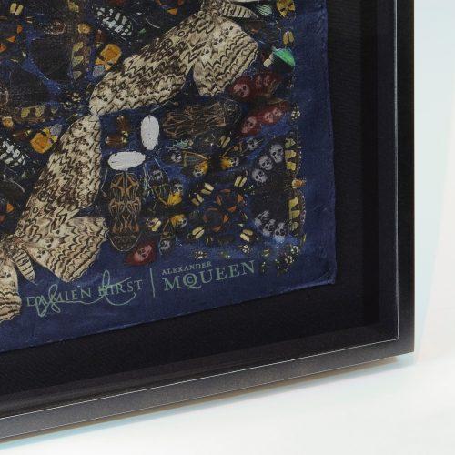 Damien Hirst Alexander McQueen - Silk Scarf - Picture Frame