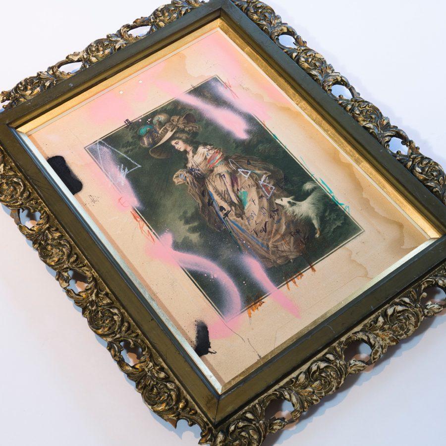 Sam Jackson recycled frame
